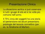 presentazione clinica