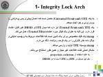 integrity lock arch 1