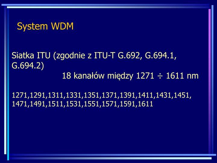 System WDM