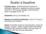 tudier dauphine