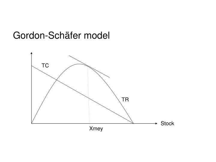 Gordon-Schäfer model