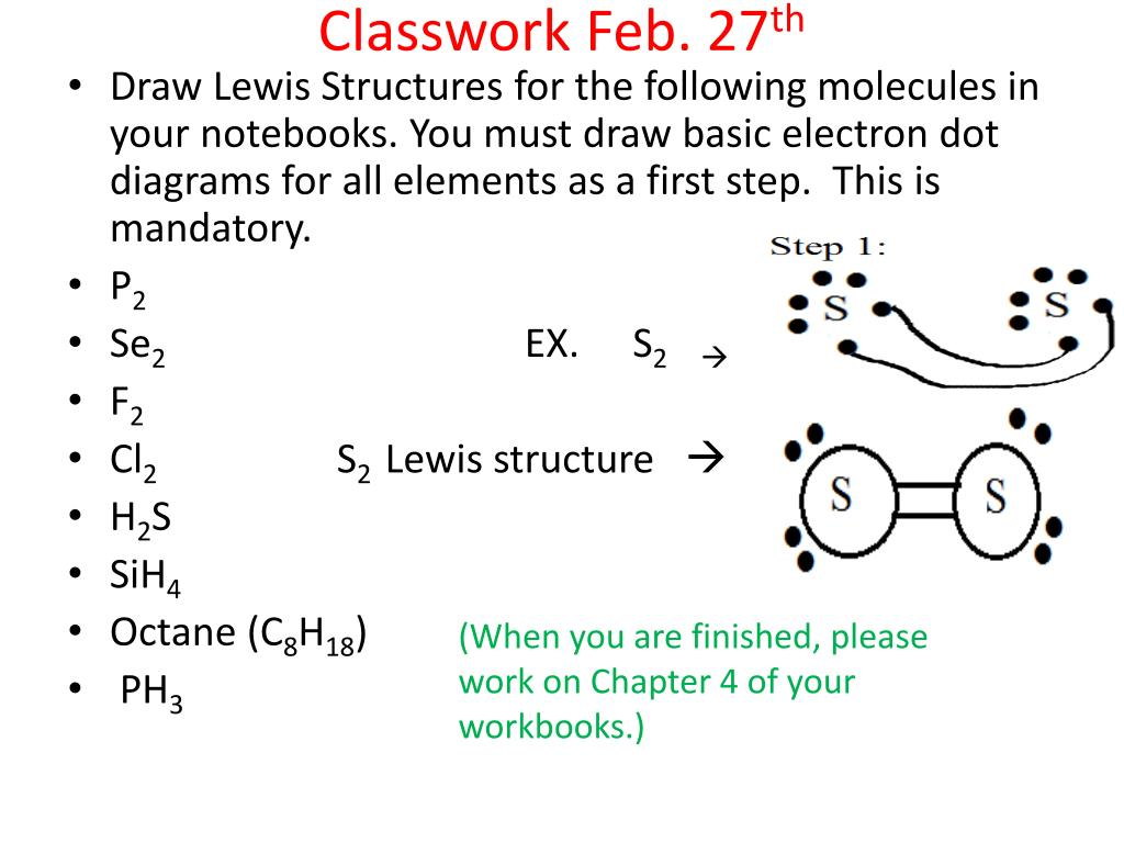 classwork feb