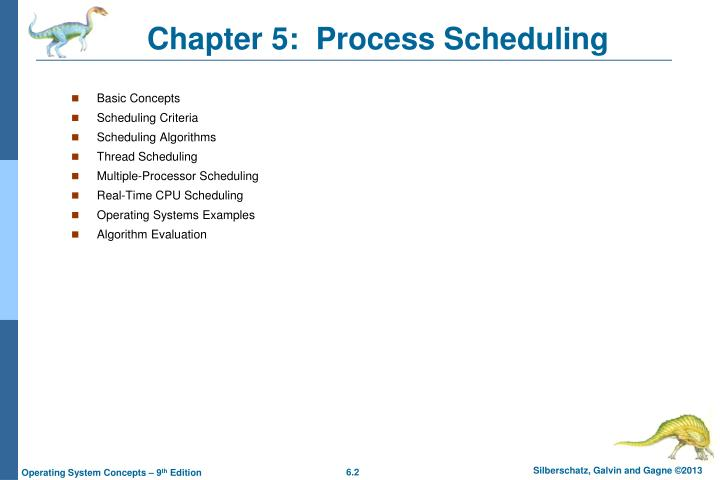 Chapter 5 process scheduling1