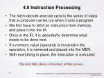 4 9 instruction processing
