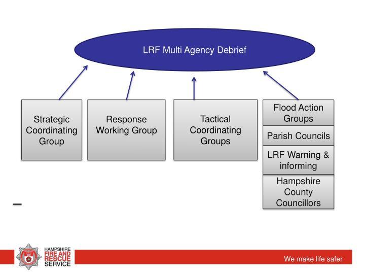 LRF Multi Agency Debrief