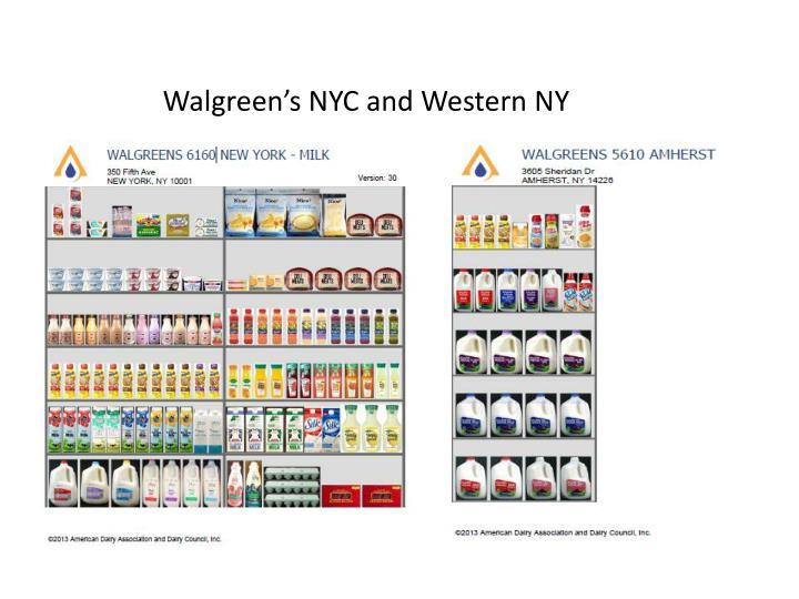 Walgreen's NYC and Western NY