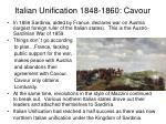 italian unification 1848 1860 cavour1