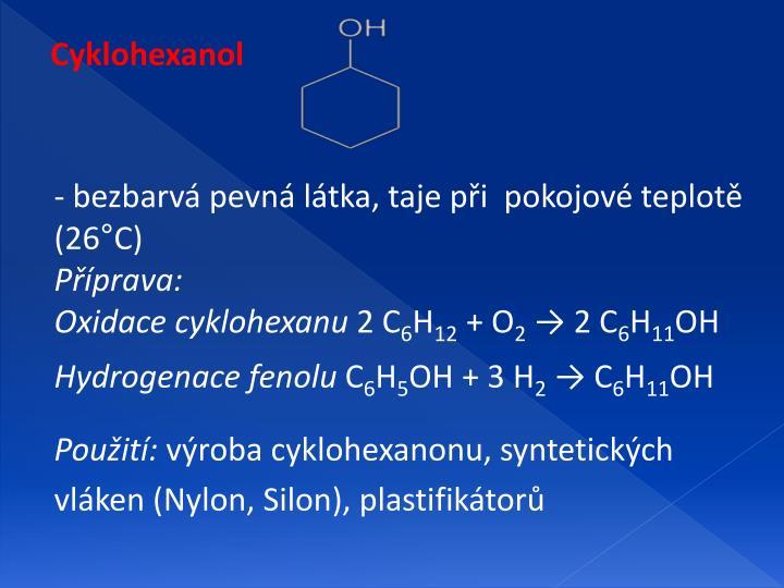 Cyklohexanol