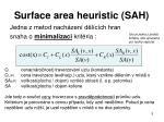 surface area heuristic sah