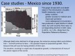 case studies mexico since 1930