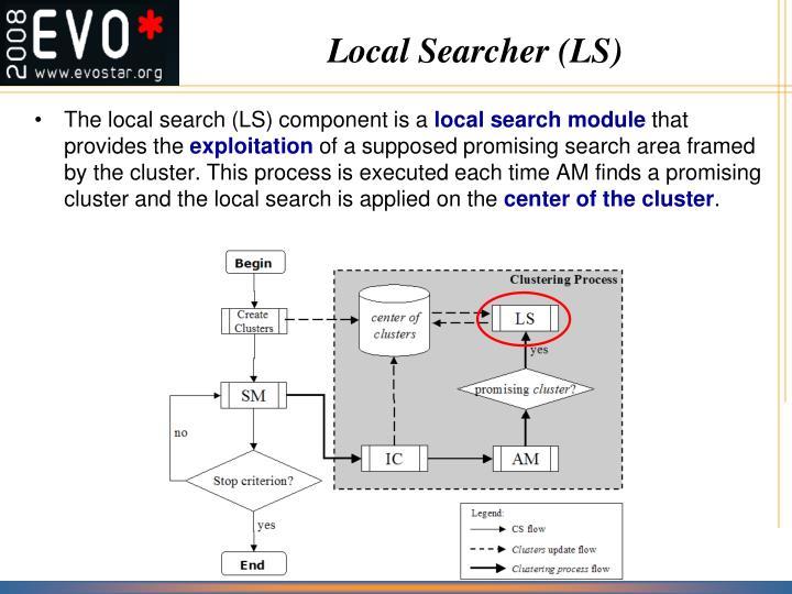 Local Searcher (LS)