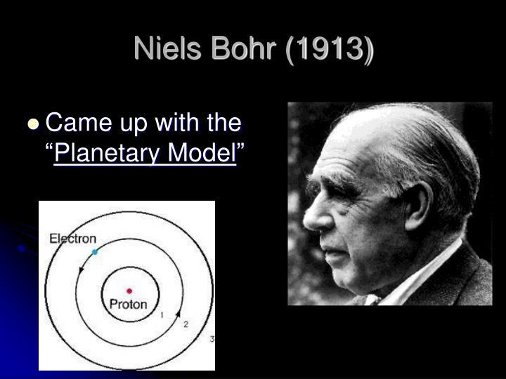 Niels Bohr (1913)