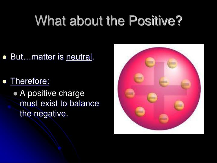 What about the Positive?