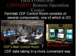 data production cdf@kisti remote operation center