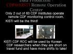 data production cdf@kisti remote operation center1