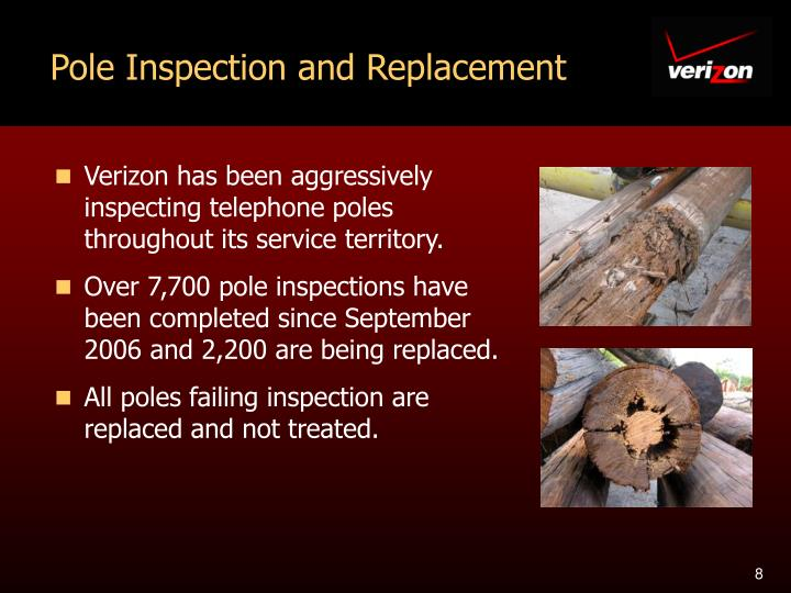 Pole Inspection and Replacement