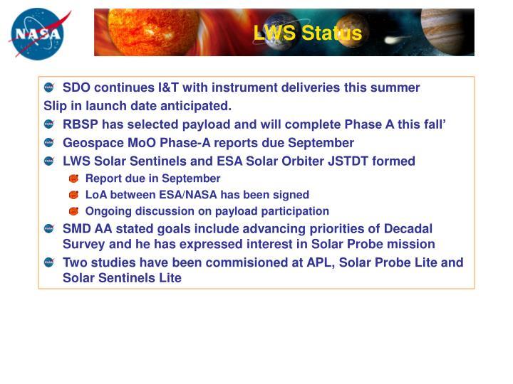 LWS Status
