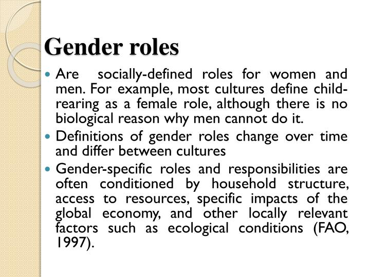 the medias impact on the perception of society on gender roles Sports history related to gender: annotated bibliography essay - for this assignment, i am going to analyze 3 different articles relating to how gender has had an impact on sport through history and how this has affected sport in the modern society.