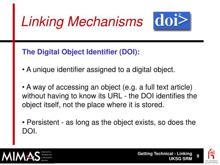 Linking Mechanisms