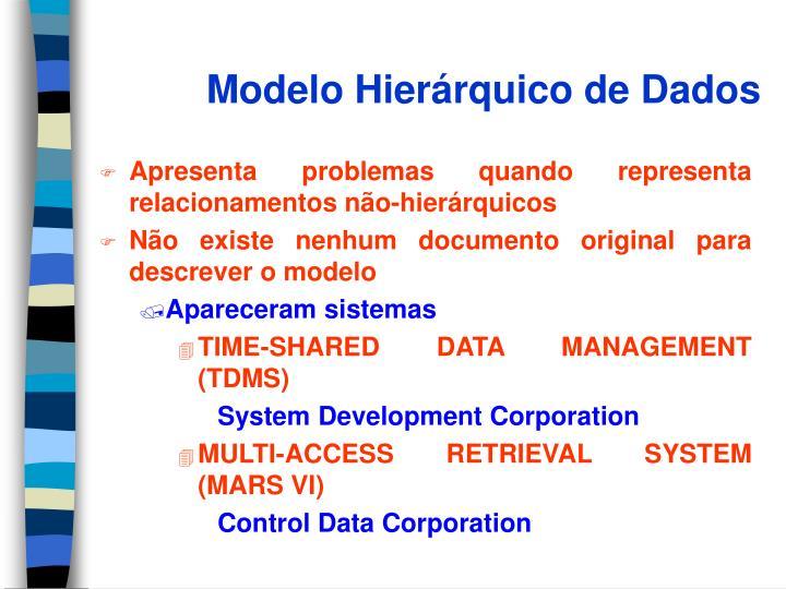 Modelo hier rquico de dados1