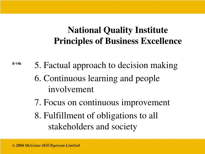 National Quality Institute