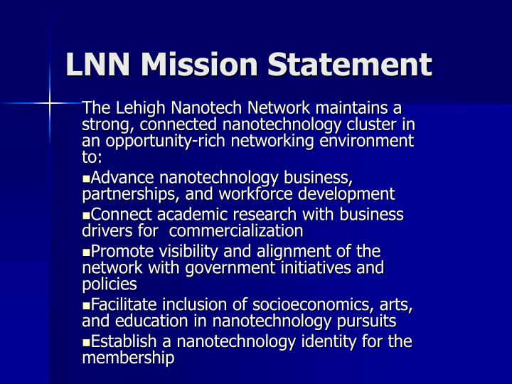 lnn mission statement n.