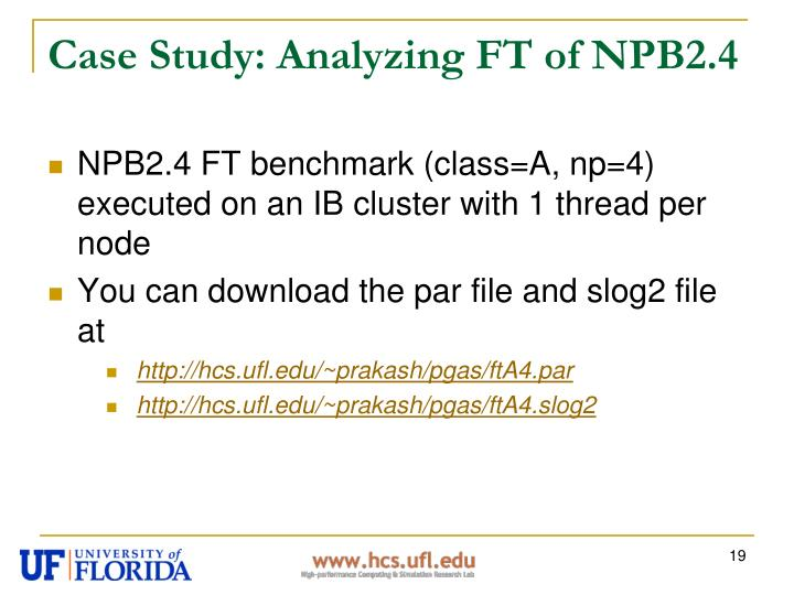 Case Study: Analyzing FT of NPB2.4