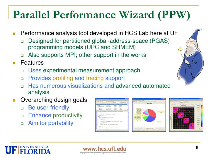 Parallel Performance Wizard (PPW)
