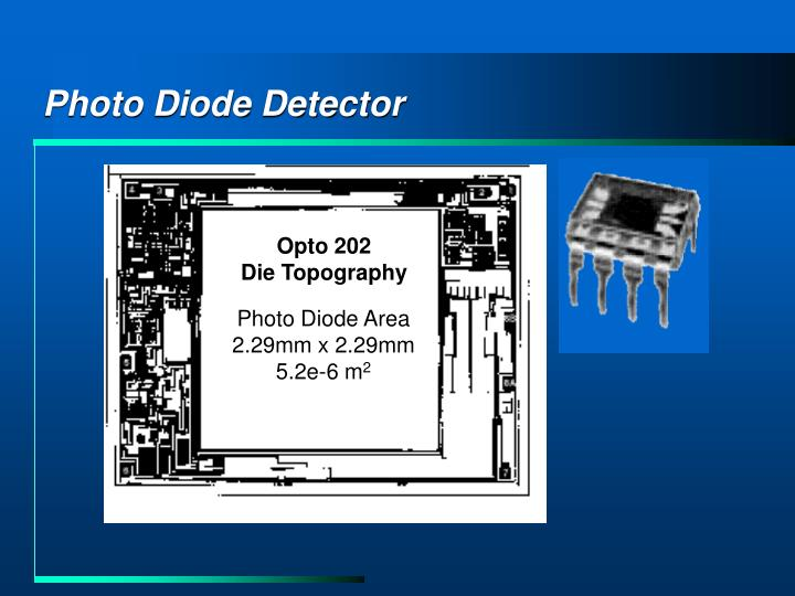 Photo Diode Detector