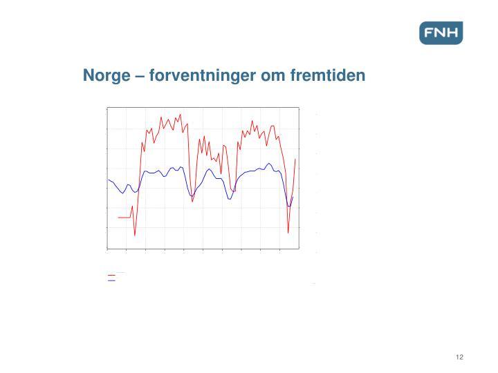Norge – forventninger om fremtiden