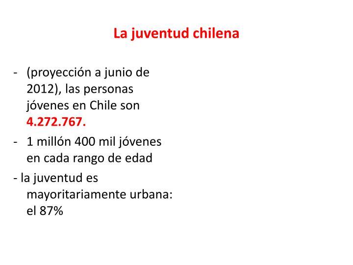 La juventud chilena