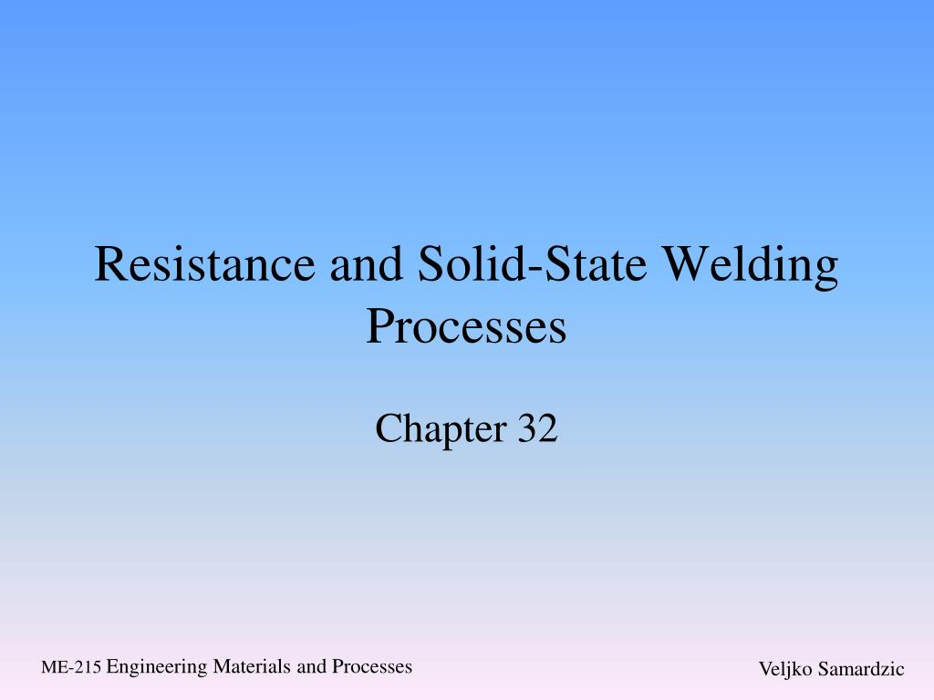 Ppt Resistance And Solid State Welding Processes Powerpoint Explosive Diagram N