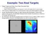 example two real targets