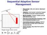 sequential adaptive sensor management