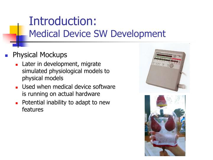 Introduction medical device sw development1