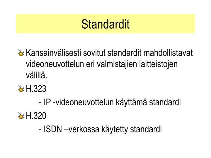 Standardit