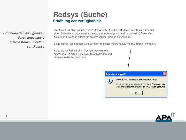 Redsys (Suche)