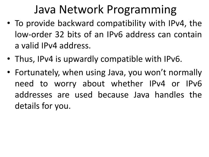 which of the following is a valid ipv4 address