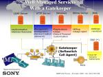 well managed services with a gatekeeper