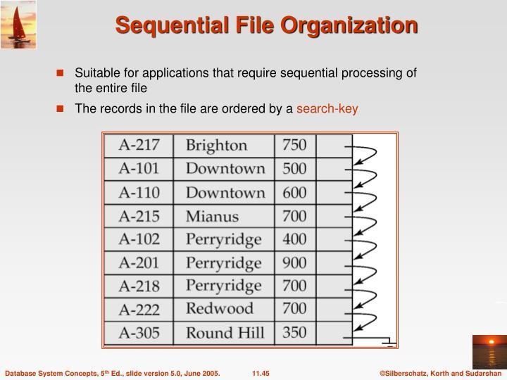 Sequential File Organization