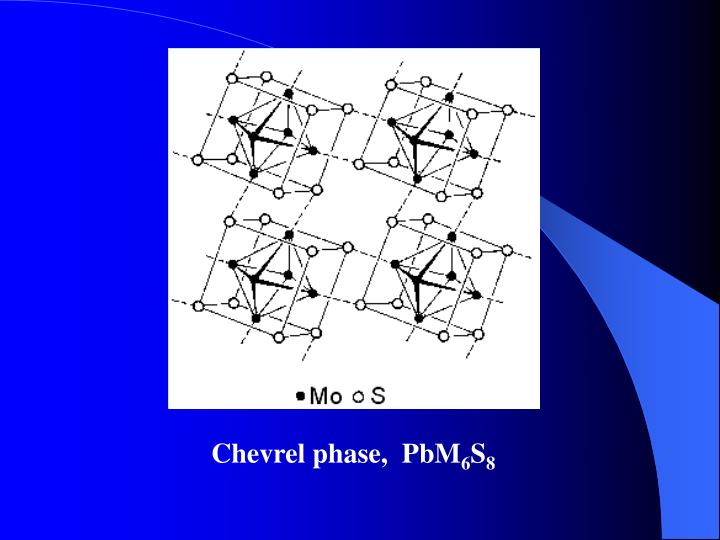 Chevrel phase,  PbM