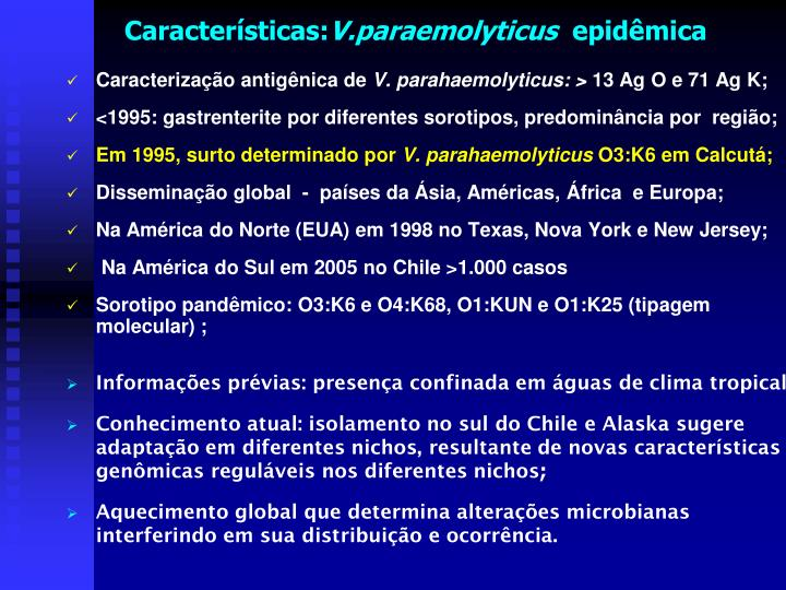 Características: