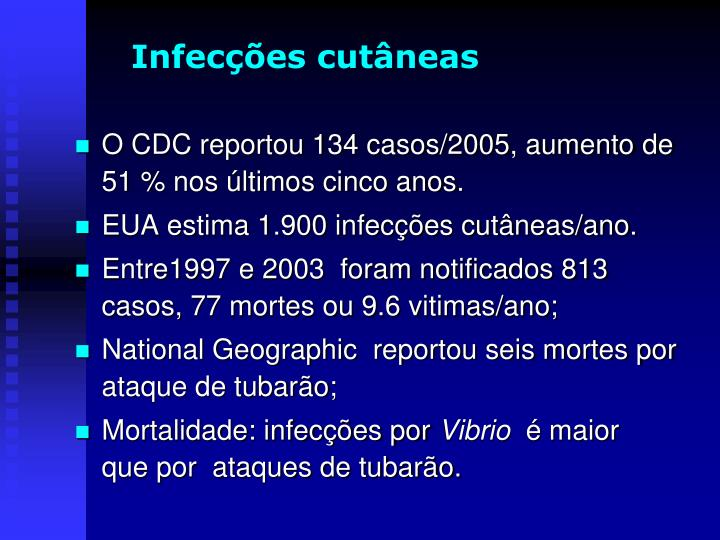 Infecções cutâneas