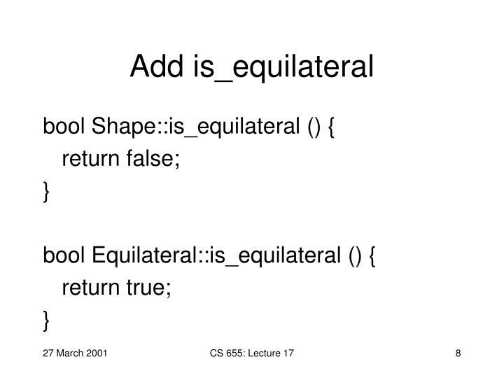 Add is_equilateral