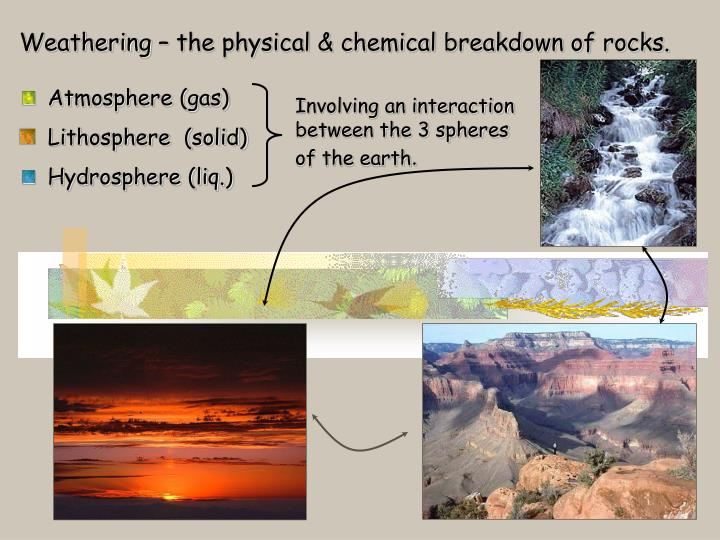 chemical earth notes What you learn the study of chemistry involves learning about all forms of matter it focuses on the composition, structure, properties and change of matter by examining atoms and the bonds they form as elements and chemical compounds.