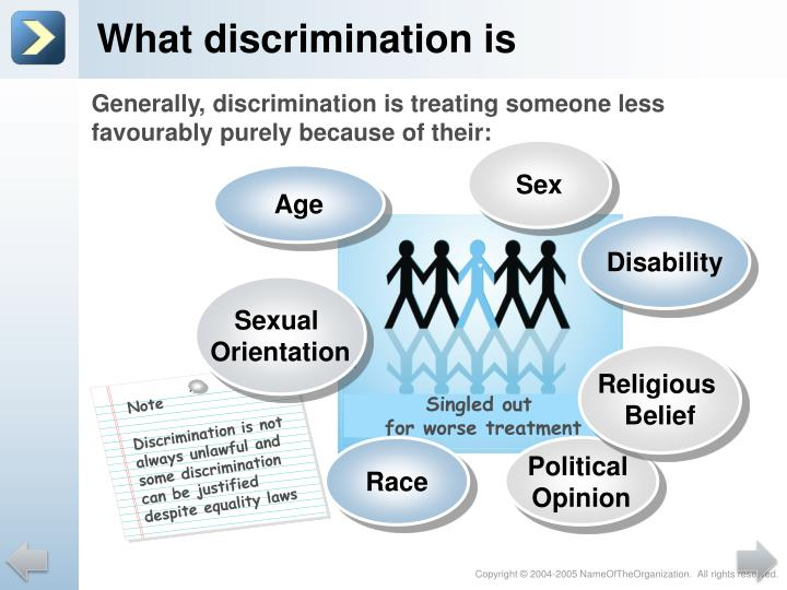 the problem of interference of the equality of law by race and sex This address will explore the development of the law's approach at the intersection between, on the one hand, the manifestation of religious beliefs and, on the other, the protection and promotion of secular values.