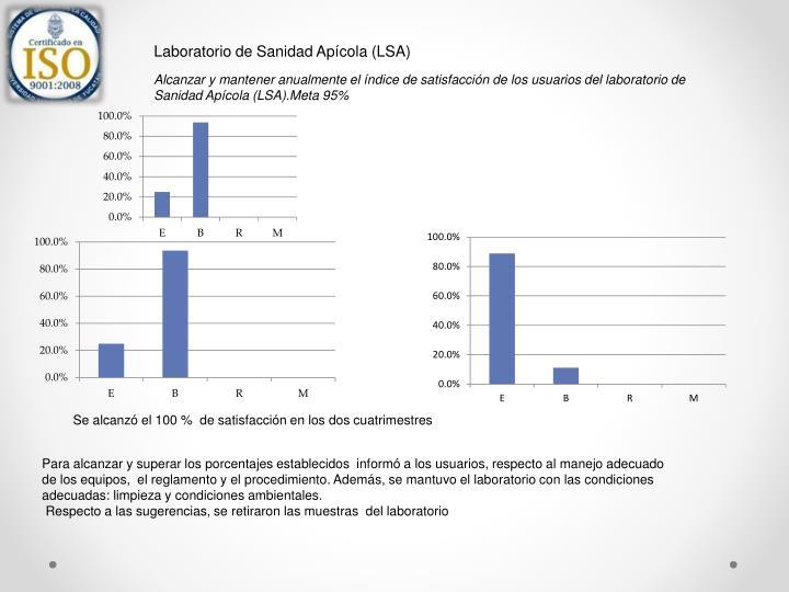 Laboratorio de Sanidad Apícola (LSA)