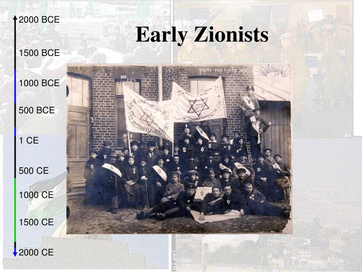 Early zionists