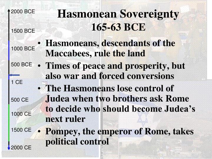 Hasmonean Sovereignty