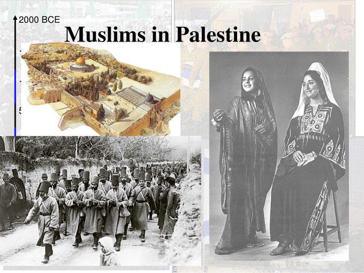 Muslims in Palestine